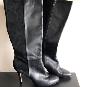 Lord and Taylor suede & leather women's boots